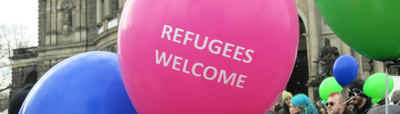 Refugees-Welcome-Ballon
