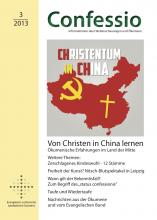 Coverbild Confessio 3/2013 mit China-Landkarte