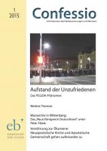 Coverbild Confessio 1/2015 mit Pegida-Demo